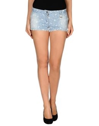 Blugirl Folies Denim Shorts Blue