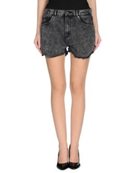 Scout Denim Shorts Grey