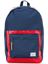 Herschel Supply Co. Contrast Square Backpack Blue