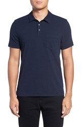 James Perse Men's Short Sleeve Jersey Polo