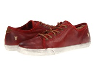 Frye Chambers Low Burnt Red Soft Vintage Leather Men's Lace Up Casual Shoes