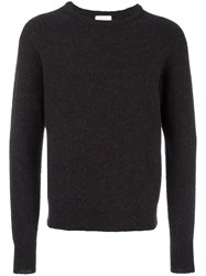 Christophe Lemaire Crew Neck Jumper Blue