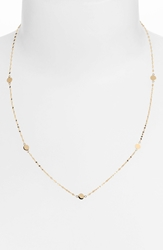 Lana 'Ombre' Disc Station Necklace Yellow Gold