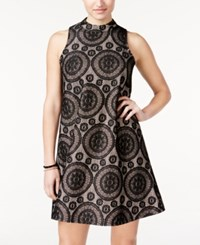 American Rag Sleeveless Lace Shift Dress Only At Macy's Black Combo