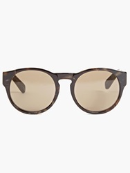 Dries Van Noten Graphic Tortoiseshell Keyhole Sunglasses
