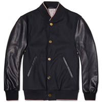 Thom Browne Varsity Jacket Blue