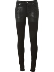 Alyx Contrast Panel Skinny Trousers Black