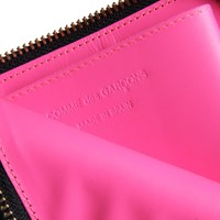 Comme Des Garcons Sa3100fl Glossy Wallet Black