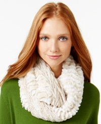 Collection Xiix Mix Media Confetti Faux Fur Loop Scarf