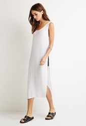 Forever 21 High Slit Crepe Top
