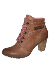 S.Oliver Laceup Boots Muscat Taupe