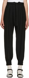 Mother Of Pearl Black Belted Lexi Trousers