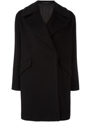 Tagliatore 'Agatha' Single Breasted Coat Black