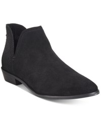 Kenneth Cole Reaction Women's Loop There It Is Booties Women's Shoes Black Suede