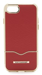 Rebecca Minkoff Inlay Slider Iphone 7 Case Deep Red
