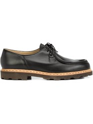 Christophe Lemaire Chunky Sole Oxford Shoes Black
