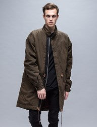 Represent Clothing Military Zip Parka