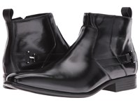 Stacy Adams Montrose Plain Toe Zipper Boot Black Men's Zip Boots