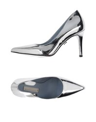 Schumacher Footwear Courts Women Silver