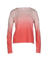George J. Love Sweaters Coral