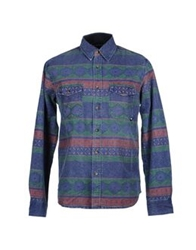 Deus Ex Machina Shirts Blue