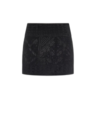 Isabel Marant Andy Embroidered Silk Mini Skirt