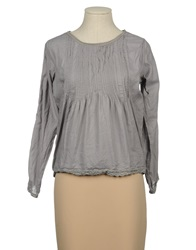 Local Apparel Blouses Grey