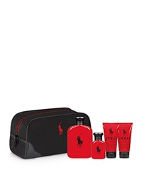 Ralph Lauren Polo Red Travel Gift Set No Color