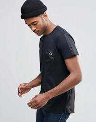 Jack And Jones Jack And Jones T Shirt With Pocket Black
