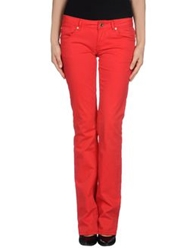 Fracomina Casual Pants Red