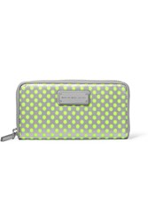 Marc By Marc Jacobs Perforated Shell Wallet Metallic