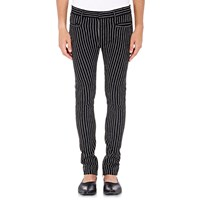 Haider Ackermann Pinstriped Slim Pants Black