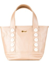Muveil Embellished Tote Bag Pink And Purple
