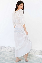 Out From Under Lace Inset Parachute Dress White