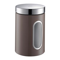 Wesco Kitchen Storage Canister With Window Warm Grey