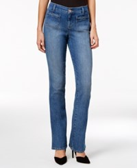 Styleandco. Style Co. Petite Braided Trim Pacific Wash Bootcut Jeans Only At Macy's