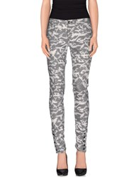 Guess Trousers Casual Trousers Women Grey