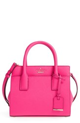 Kate Spade New York 'Cameron Street Mini Candace' Leather Satchel Pink Pink Confetti