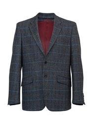 Raging Bull Herringbone Blazer Green