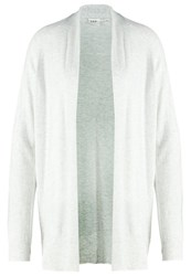Gap Cardigan Pale Grey Heather Mottled Light Grey