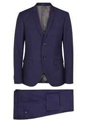 Tiger Of Sweden Every Navy Wool And Mohair Blend Suit