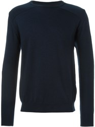 Oliver Spencer 'Blade' Sweater Blue