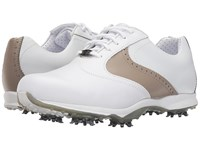 Footjoy Embody White Taupe Women's Golf Shoes