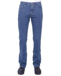 Stefano Ricci Five Pocket Denim Jeans Blue
