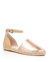 Kenneth Cole Blair Espadrille Flats Compare At 110 Rose Gold Nude