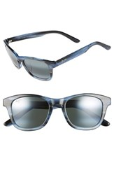 Women's Maui Jim 'Ka'a Point' 51Mm Polarizedplus2 Sunglasses Blue Neutral Grey
