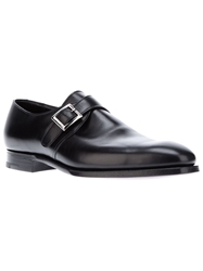 Crockett Jones Crockett And Jones 'Savile' Monk Shoe Black