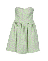 Chlotilde Dresses Short Dresses Women Acid Green