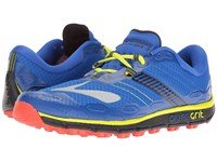 Brooks Puregrit 5 Electric Blue Black Lime Punch Men's Running Shoes