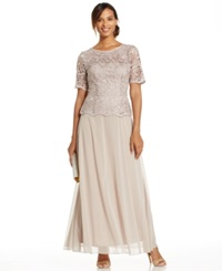 Patra Lace Popover Gown
